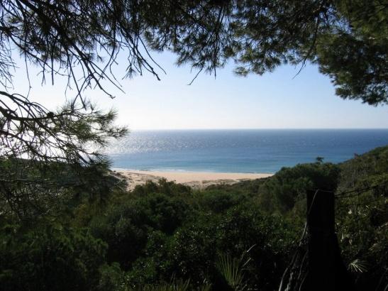Beach below El Cañuelo