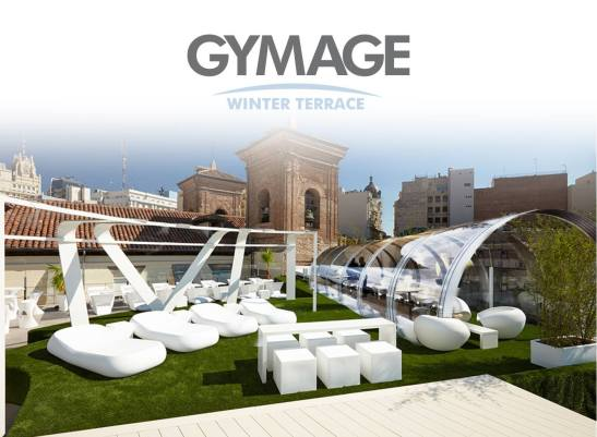Gymage Winter Rooftop Terrace