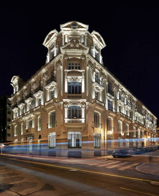 Urso Hotel & Spa building