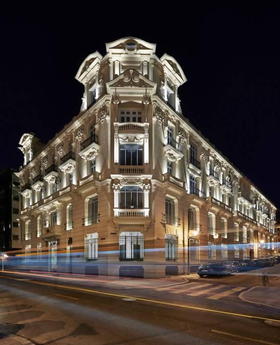 Urso Hotel & Spa building