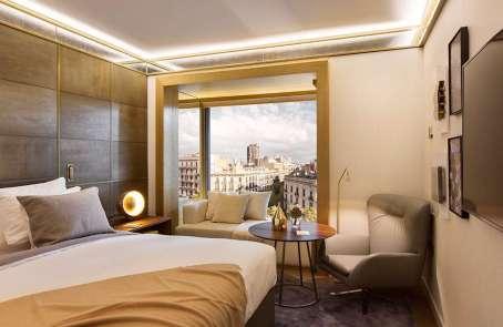 Hotel de lujo en Barcelona